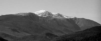 Photograph - Mt Washington I Bw by Frank LaFerriere
