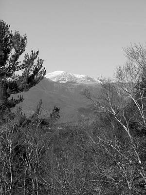 Photograph - Mt Washington IIi Bw by Frank LaFerriere