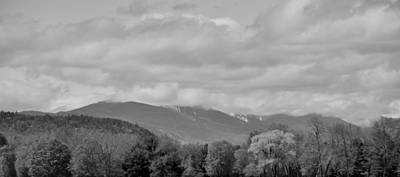 Photograph - Mt Washington Iv Bw by Frank LaFerriere