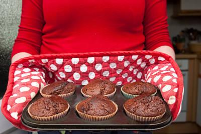 Muffins Print by Tom Gowanlock
