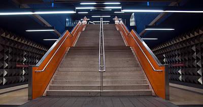 Munich Subway No.4 Print by Wyn Blight-Clark
