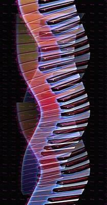 Musical Dna Print by Bill Cannon
