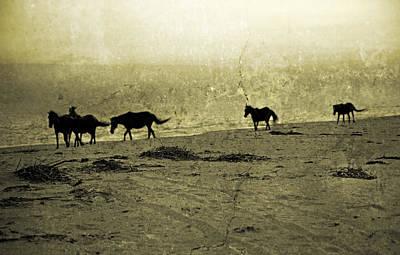 Mustangs Print by Betsy Knapp