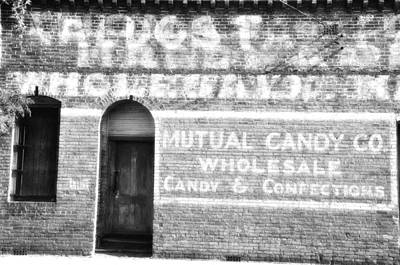 Mutual Candy Company Print by Jan Amiss Photography