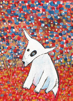 My Dog Blackie Print by Maureen Rocksmoore