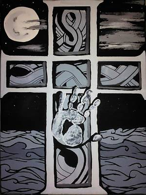 My Hand Print by Ronald Mcduff