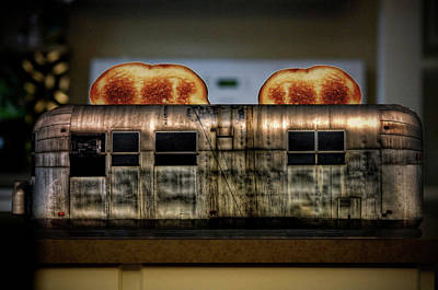 My Old Toaster Print by Jan Maklak