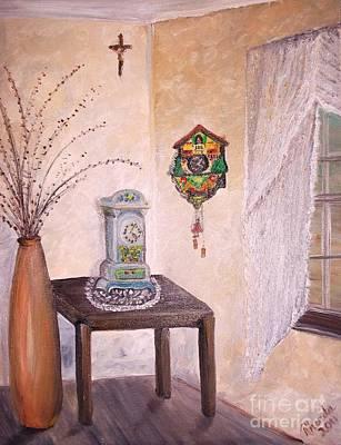 Cuckoo Painting - My Own Little Corner by Rhonda Lee