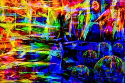 Depression Mixed Media - My Universe by Angelina Vick