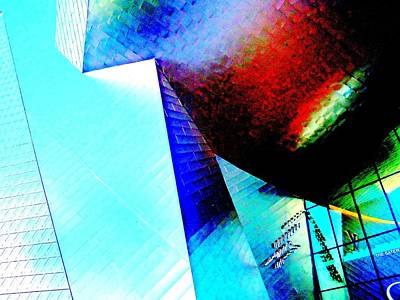 Retail Digital Art - My Vegas City Center 7 by Randall Weidner