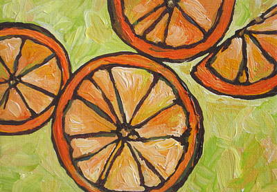 Grapefruit Painting - My Vitamin C by Sandy Tracey