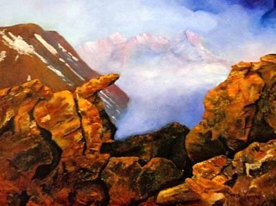 Mysterious Mountain Original by Janis  Tafoya