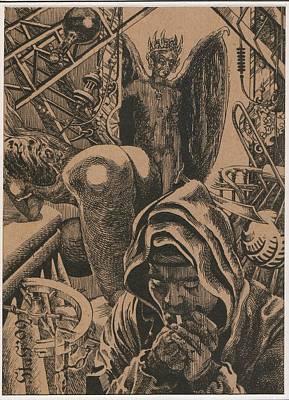 Mysterious Plot Print by Sirenko