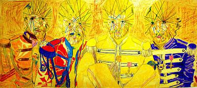 Ringo Drawing - Mystic L Beat L by John Battles