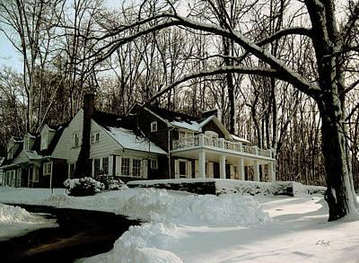N.c Photograph - N. C. Wyeth Home by Gordon Beck
