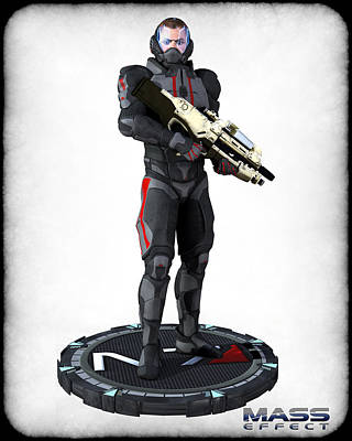N7 Soldier V2 Print by Frederico Borges