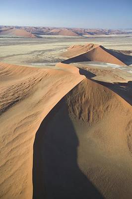 Aerial Perspective Painting - Namib Desert by Unknown