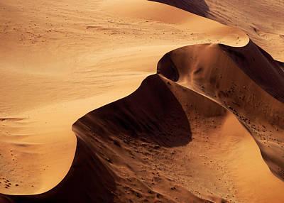 Desert Art Photograph - Namibia Aerial Vi by Nina Papiorek