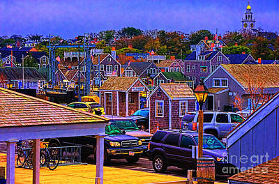 D700 Photograph - Nantucket Clusters Around The Port by Jack Torcello