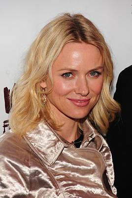 Opening Night Photograph - Naomi Watts In Attendance For A View by Everett