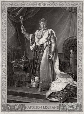 Napoleon I, Emperor Of France Print by Photo Researchers