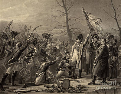 Napoleon Returns From The Island Print by Photo Researchers