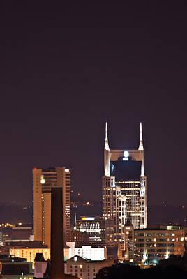 Nashville Cityscape 6 Print by Douglas Barnett