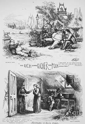 Nast: Tweed Ring Cartoon Print by Granger