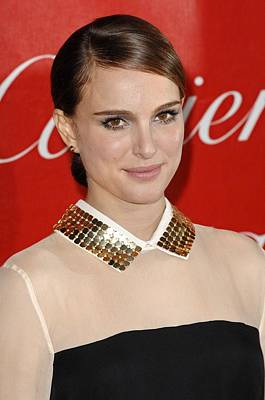 Palm Springs Convention Center Photograph - Natalie Portman At Arrivals For 22nd by Everett