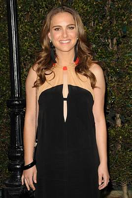 Natalie Portman Wearing A Vena Cava Print by Everett