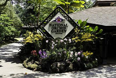 Flower Photograph - National Orchid Garden Inside The Singapore Botanic Garden by Ashish Agarwal