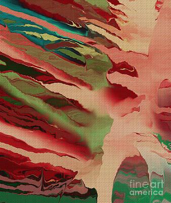 Native Abstract Weave Print by Deborah Benoit