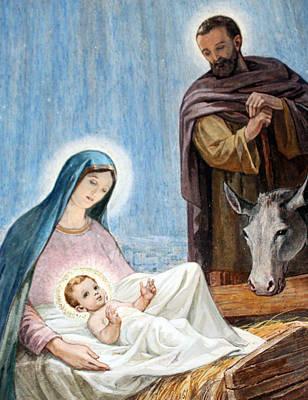 Nativity Story At Shepherds Fields Original by Munir Alawi