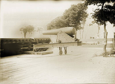 Naval Cannon New Haven Original by Jan W Faul