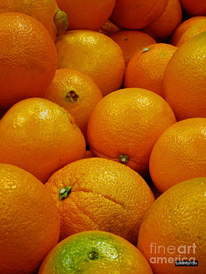 Navel Oranges Print by Methune Hively