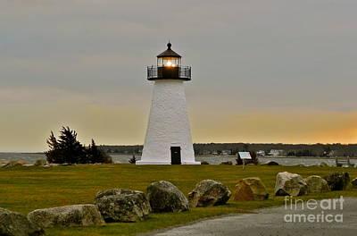 Ned's Point Lighthouse Print by Nick Korstad