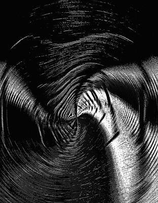 Negative Space - Feeling Negative Human Emotions Print by Steve Ohlsen