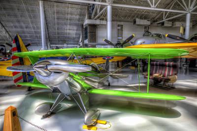 Granger Photograph - Neon Green by Brad Granger