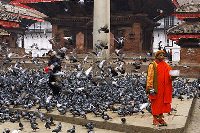 Nepal Print by Ivan Slosar