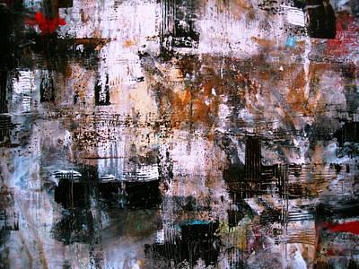 Neutral Waves  Wall Art Print by Pristine Cartera Turkus