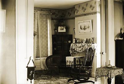 New England Interior Original by Jan Faul