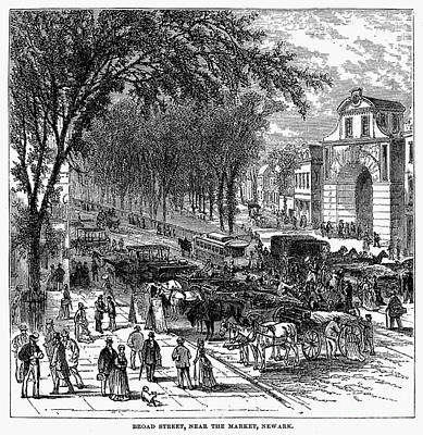 New Jersey: Newark, 1876 Print by Granger