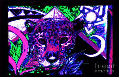 New Mu Jaguar Print by Susanne Still