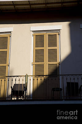 Leda Photograph - New Orleans Shadows by Leslie Leda