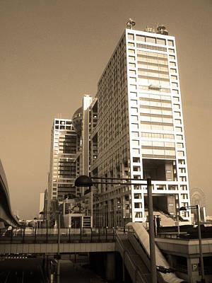 Fuji Photograph - New Tokyo by Naxart Studio