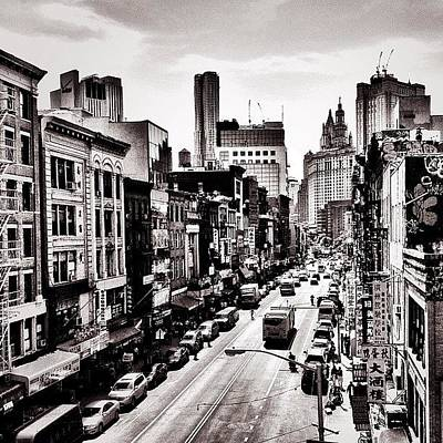 City Scenes Photograph - New York City - Above Chinatown by Vivienne Gucwa