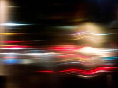 Ny.nyc.abstract Photograph - New York City Lights by Hakon Soreide