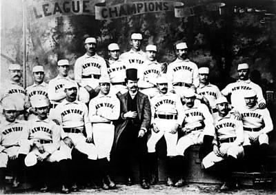 New York Giants, Baseball Team, 1889 Print by Everett