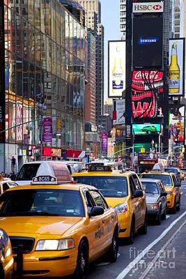 Gridlock Photograph - New York Gridlock by Brian Jannsen