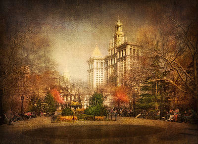New York In April Print by Svetlana Sewell